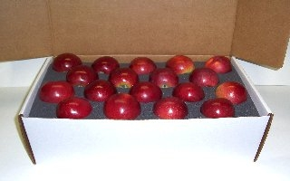 double layer apple shipping box